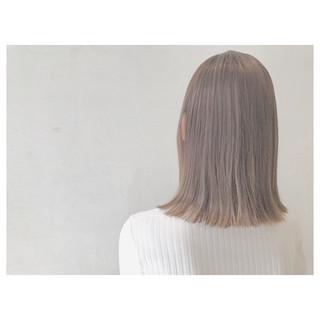 ナチュラル ミディアム 女子会 リラックス ヘアスタイルや髪型の写真・画像