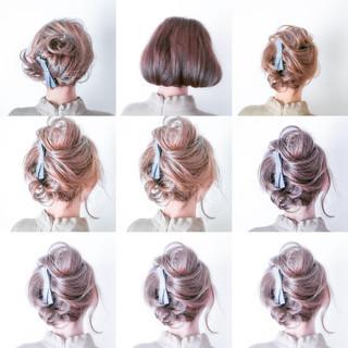 上品 フェミニン ゆるふわ 大人女子 ヘアスタイルや髪型の写真・画像