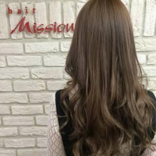 ロング 外国人風 ピンク レッド ヘアスタイルや髪型の写真・画像