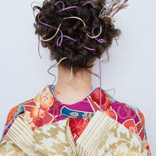 アンニュイほつれヘア ヘアアレンジ ガーリー 簡単ヘアアレンジ ヘアスタイルや髪型の写真・画像