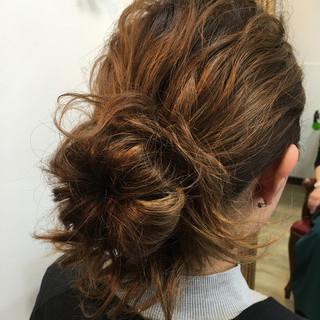 ストリート ハーフアップ ゆるふわ ショート ヘアスタイルや髪型の写真・画像