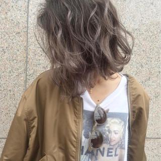 アッシュ ストリート 外国人風カラー ヘアアレンジ ヘアスタイルや髪型の写真・画像
