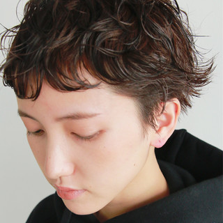 ゆるふわ バレンタイン パーマ 前髪パーマ ヘアスタイルや髪型の写真・画像 ヘアスタイルや髪型の写真・画像