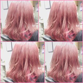 ミディアム ゆるふわ 大人かわいい ガーリー ヘアスタイルや髪型の写真・画像