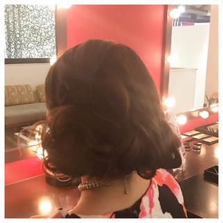 成人式 結婚式 ロング 謝恩会 ヘアスタイルや髪型の写真・画像