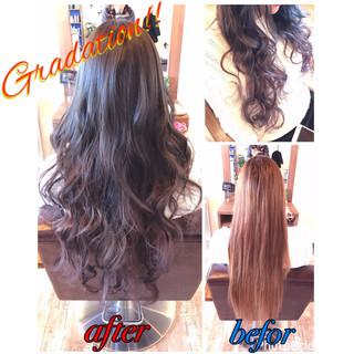 上品 ラベンダー グレージュ ピンク ヘアスタイルや髪型の写真・画像 ヘアスタイルや髪型の写真・画像