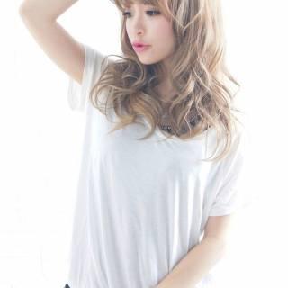 渋谷系 丸顔 逆三角形 卵型 ヘアスタイルや髪型の写真・画像