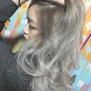 ハイライト 上品 エレガント ヘアアレンジ ヘアスタイルや髪型の写真・画像