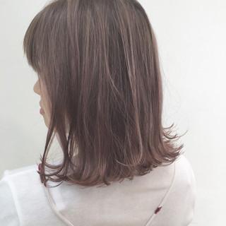 ラベンダーピンク ラベンダーアッシュ ハイライト ラベンダー ヘアスタイルや髪型の写真・画像 ヘアスタイルや髪型の写真・画像