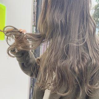 ヘアアレンジ オフィス ロング アンニュイほつれヘア ヘアスタイルや髪型の写真・画像