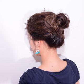 外国人風 ヘアアレンジ 大人女子 簡単ヘアアレンジ ヘアスタイルや髪型の写真・画像 ヘアスタイルや髪型の写真・画像