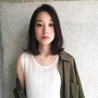 透明感 ニュアンス 秋 女子会 ヘアスタイルや髪型の写真・画像 ヘアスタイルや髪型の写真・画像