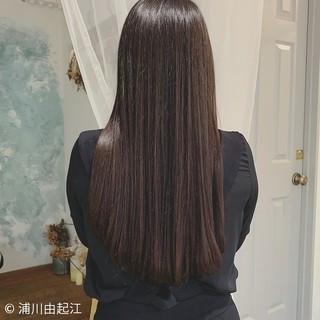 デート ナチュラル モテ髪 黒髪 ヘアスタイルや髪型の写真・画像