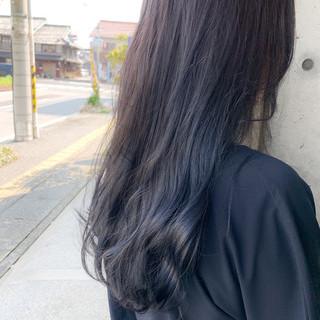 ナチュラル 透明感カラー ブルーラベンダー ブリーチ必須 ヘアスタイルや髪型の写真・画像