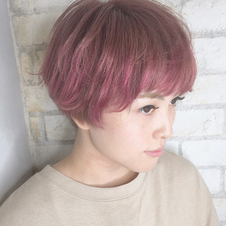 モード ベリーショート 小顔 ショート ヘアスタイルや髪型の写真・画像 ヘアスタイルや髪型の写真・画像