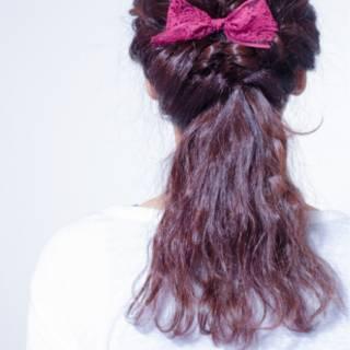 ヘアアレンジ 簡単ヘアアレンジ ゆるふわ 大人かわいい ヘアスタイルや髪型の写真・画像 ヘアスタイルや髪型の写真・画像