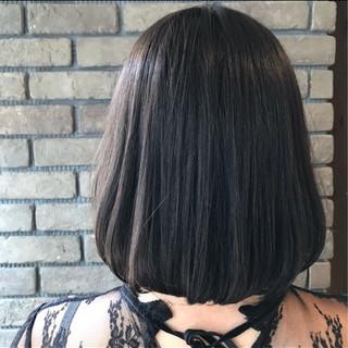 グレージュ 抜け感 透明感 ショート ヘアスタイルや髪型の写真・画像