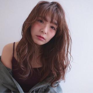 アンニュイ 大人かわいい ロング 抜け感 ヘアスタイルや髪型の写真・画像