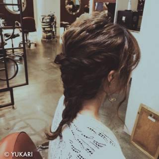ショート 波ウェーブ アップスタイル ヘアアレンジ ヘアスタイルや髪型の写真・画像