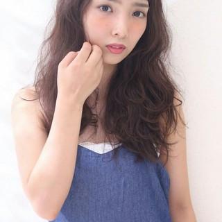 パーマ 外国人風 かっこいい 大人女子 ヘアスタイルや髪型の写真・画像