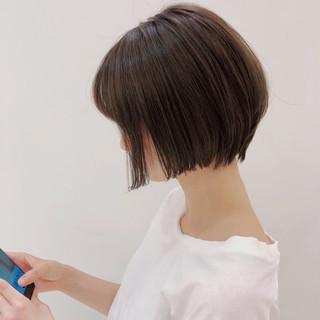 透明感 暗髪 色気 ナチュラル ヘアスタイルや髪型の写真・画像