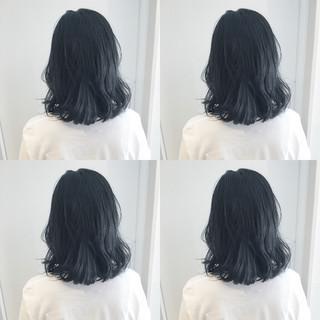 渋谷系 ナチュラル ミディアム オルチャン ヘアスタイルや髪型の写真・画像