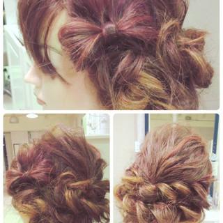 ヘアアレンジ アップスタイル パーティ かわいい ヘアスタイルや髪型の写真・画像 ヘアスタイルや髪型の写真・画像