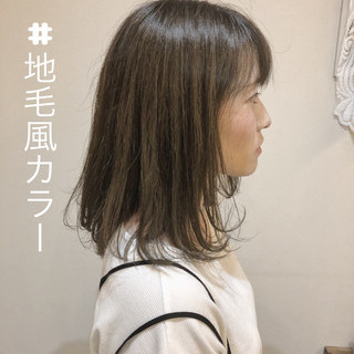 抜け感 前髪あり 外国人風 グレージュ ヘアスタイルや髪型の写真・画像 ヘアスタイルや髪型の写真・画像
