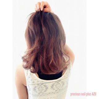 ボブ ガーリー 外国人風 ピンク ヘアスタイルや髪型の写真・画像
