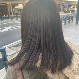 アッシュ ナチュラル ナチュラルグラデーション アッシュグレージュ ヘアスタイルや髪型の写真・画像