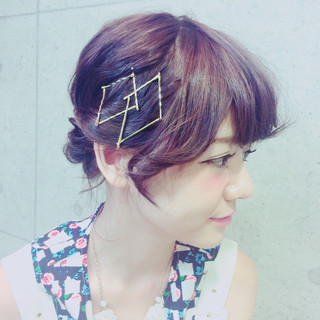 ゆるふわ フェミニン 夏 レイヤーカット ヘアスタイルや髪型の写真・画像 ヘアスタイルや髪型の写真・画像