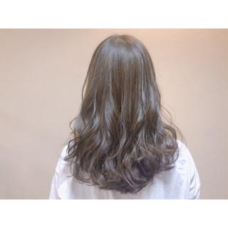 ナチュラル 春 セミロング 夏 ヘアスタイルや髪型の写真・画像