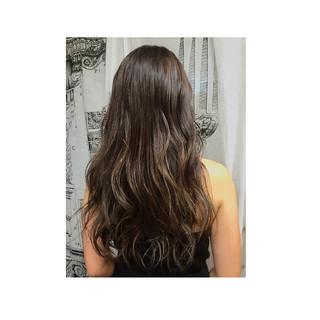 暗髪 ゆるふわ アッシュ ロング ヘアスタイルや髪型の写真・画像 ヘアスタイルや髪型の写真・画像