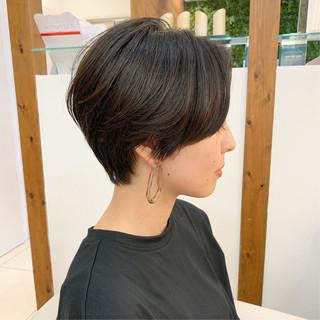 ショートヘア ショート 大人可愛い ふんわりショート ヘアスタイルや髪型の写真・画像