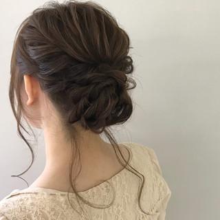 デート 結婚式 パーティ ヘアアレンジ ヘアスタイルや髪型の写真・画像