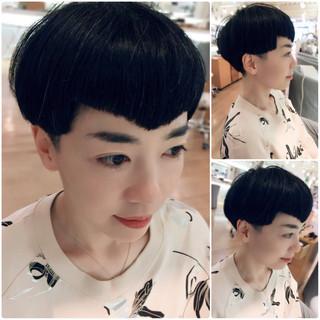 坊主 ショート モード 大人女子 ヘアスタイルや髪型の写真・画像