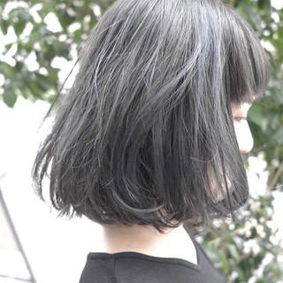 リラックス ナチュラル ブルージュ ボブ ヘアスタイルや髪型の写真・画像