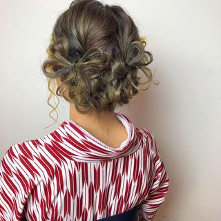 ボブ デート 結婚式 ナチュラル ヘアスタイルや髪型の写真・画像 | 山口 卓哉/earth北浦和店 / Hair&Make EARTH北浦和店
