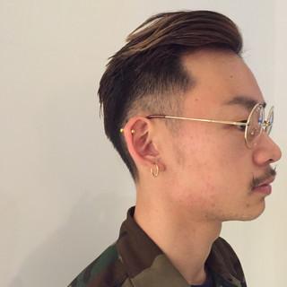ボーイッシュ 外国人風 ストリート メンズ ヘアスタイルや髪型の写真・画像