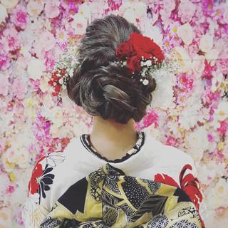 アンニュイほつれヘア 成人式 デート ロング ヘアスタイルや髪型の写真・画像