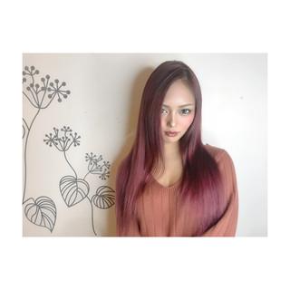 ナチュラル 艶髪 外国人風カラー ブリーチカラー ヘアスタイルや髪型の写真・画像