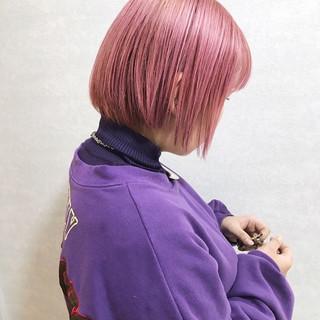 ハイライト ハイトーン ハイトーンカラー ショート ヘアスタイルや髪型の写真・画像