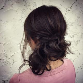 ナチュラル 簡単ヘアアレンジ モテ髪 愛され ヘアスタイルや髪型の写真・画像 ヘアスタイルや髪型の写真・画像