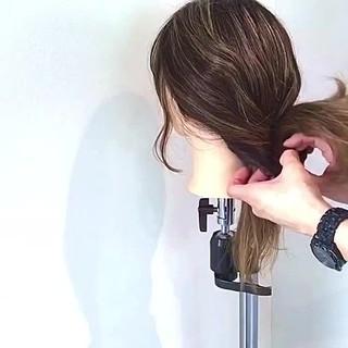 キャップ フェミニン ヘアアレンジ ロング ヘアスタイルや髪型の写真・画像