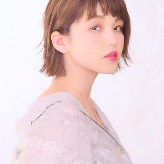 ショート 秋 女子力 ショートボブ ヘアスタイルや髪型の写真・画像