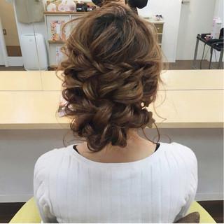 パーティ 大人女子 結婚式 上品 ヘアスタイルや髪型の写真・画像