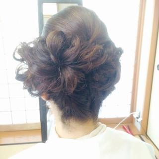 大人かわいい ボブ 着物 結婚式 ヘアスタイルや髪型の写真・画像 ヘアスタイルや髪型の写真・画像