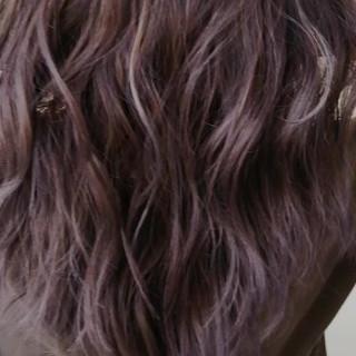 ハイライト セミロング エレガント 大人ハイライト ヘアスタイルや髪型の写真・画像
