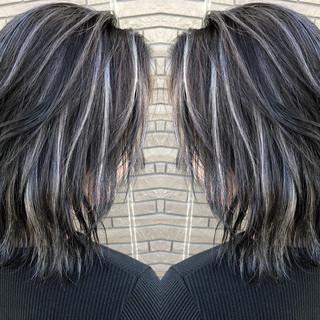 ボブ デート 外国人風 ストリート ヘアスタイルや髪型の写真・画像