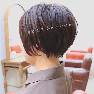 エレガント ショート 大人ショート オフィス ヘアスタイルや髪型の写真・画像